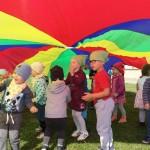 Žaidimai su parašiutais2