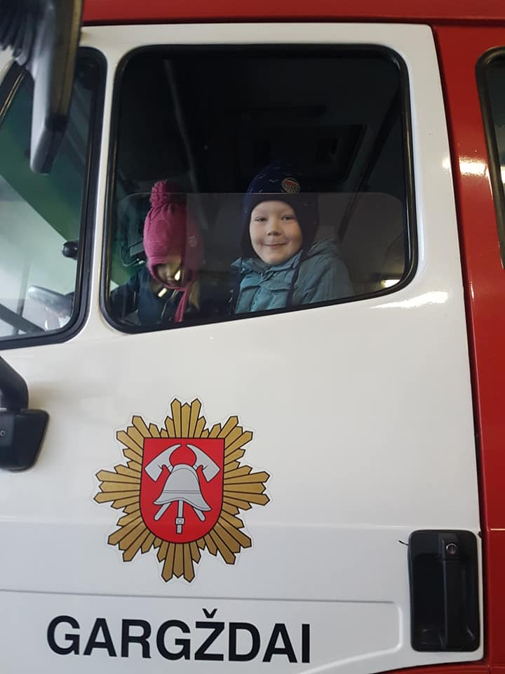 gaisrinės auto