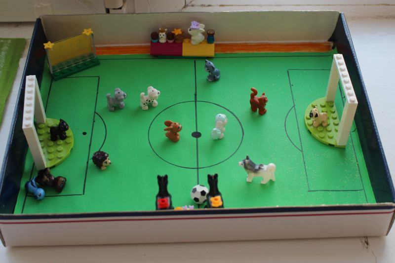 gyvunėlių futbolas